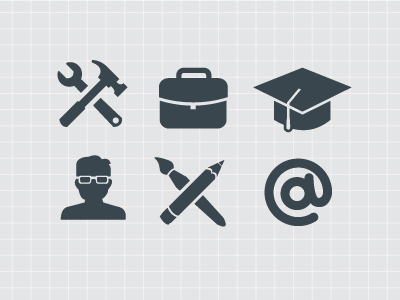12 Contact Icons For Resume Images Resume Icon Resume Icon And