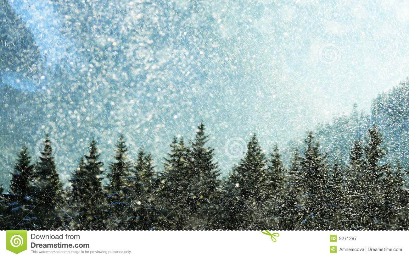 Royalty Free Pictures of a Snow Storm