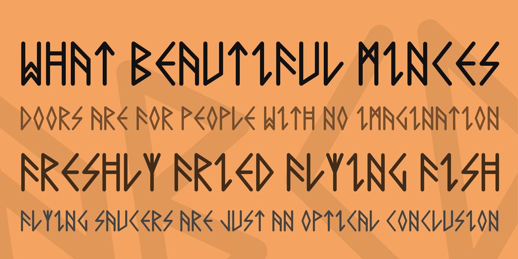 Rune Font