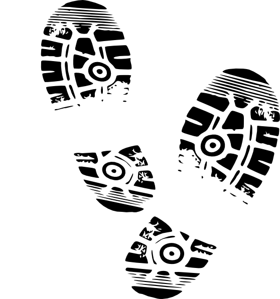 Running Shoe Sole Clip Art