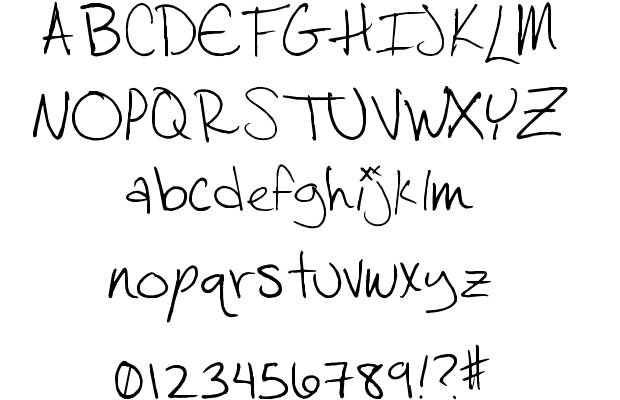 8 Salamander Script Font Images