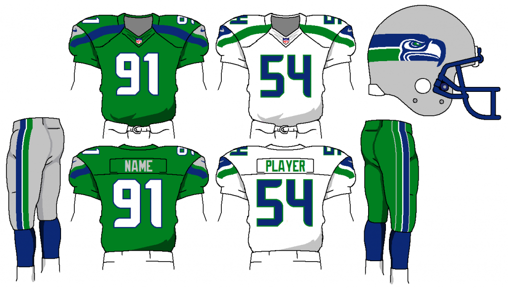 9 Seahawks Jersey Number Font Images