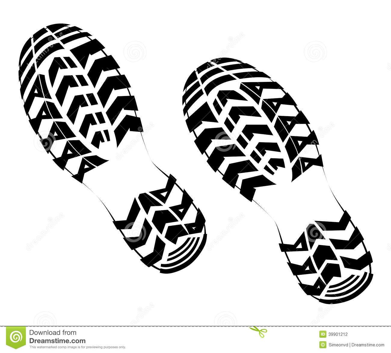14 Tennis Shoe Print Vector Images - Shoe Print Border Clip Art ...
