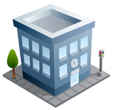 15 Small Office Building Icon Images