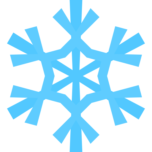Snowflake Clip Art Icon
