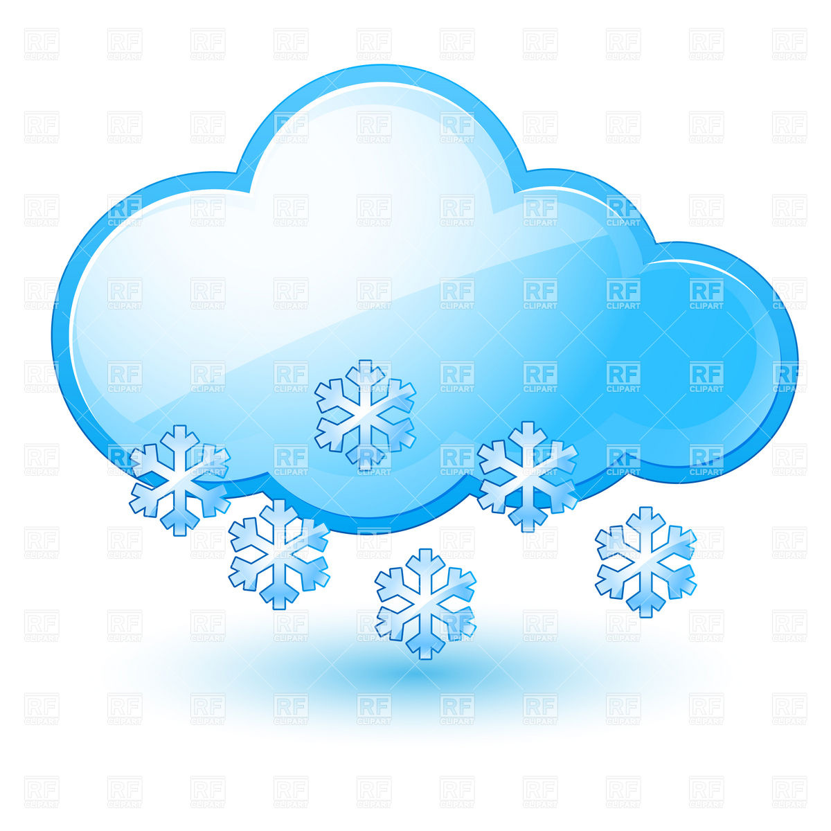 Snowy Weather Clip Art