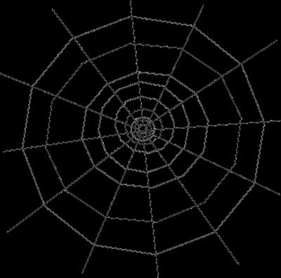 13 Spider Web PSDs Images