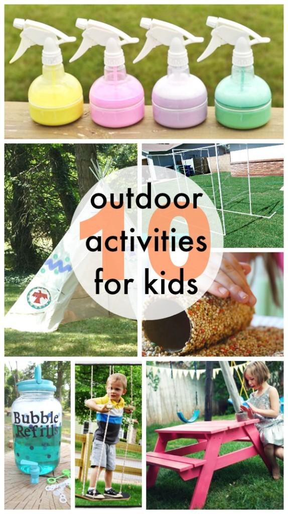 Summer Fun Outdoor Activities for Kids