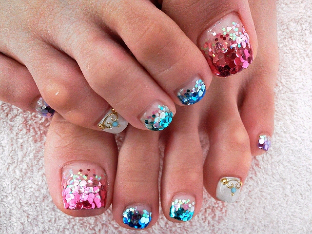 14 Cool Toe Nail Designs Images