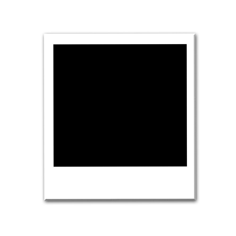 Transparent Polaroid Frame