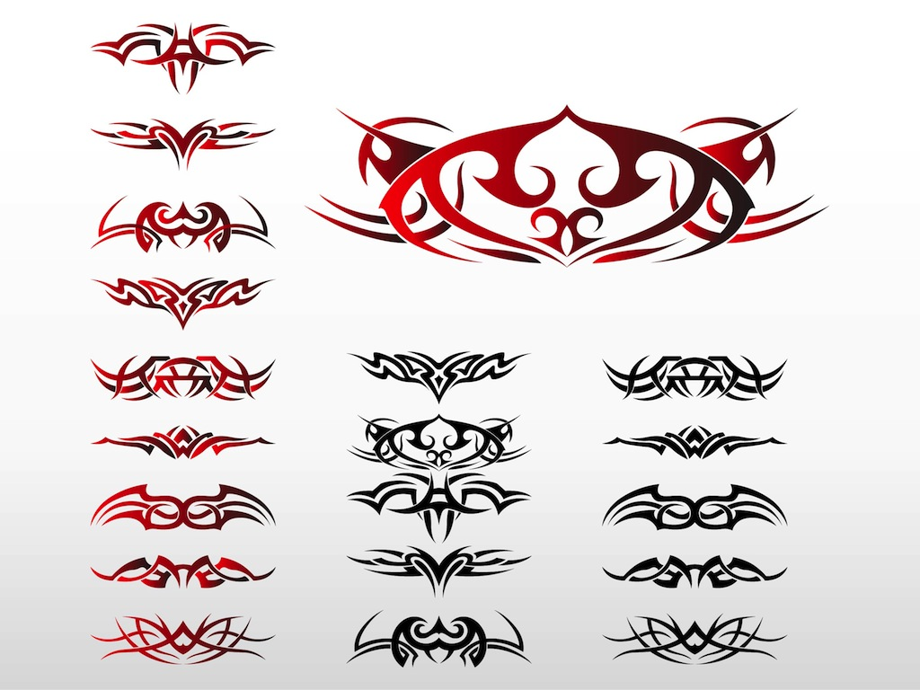 14 Tribal Vector Graphics Images