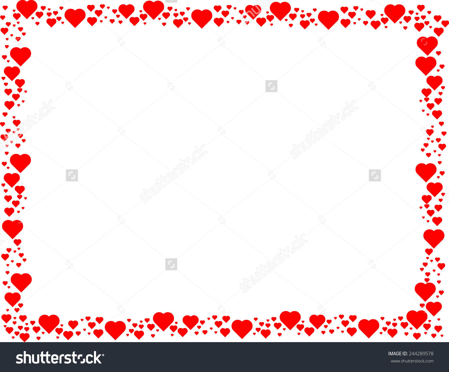 8 Valentine\'s Day Frame Vector Images - Valentine\'s Day Frame Vector ...