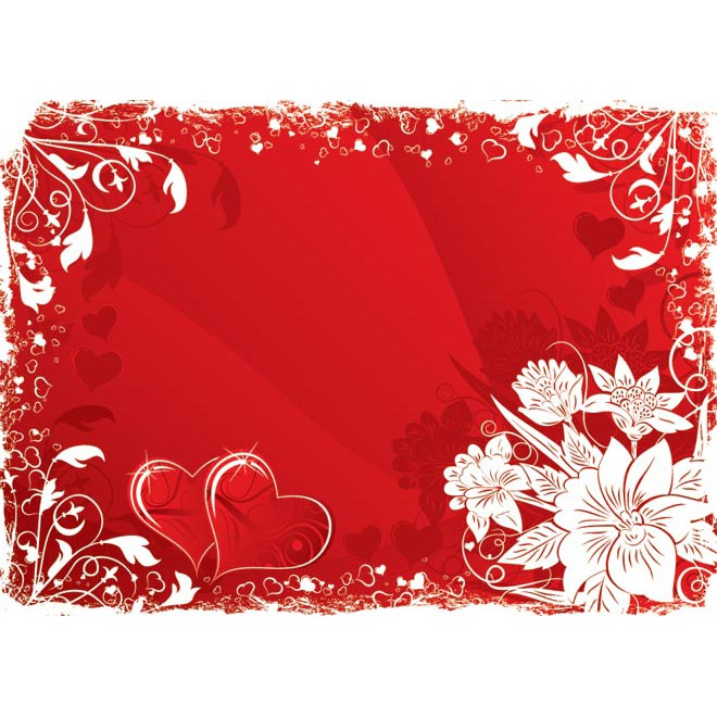 8 Valentine's Day Frame Vector Images