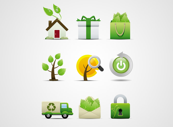 10 Environment Protection Vector Icon Images