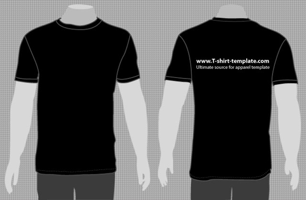 Vector T-Shirt Front and Back