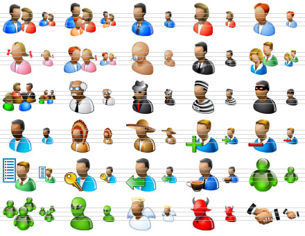 Visio People Icons