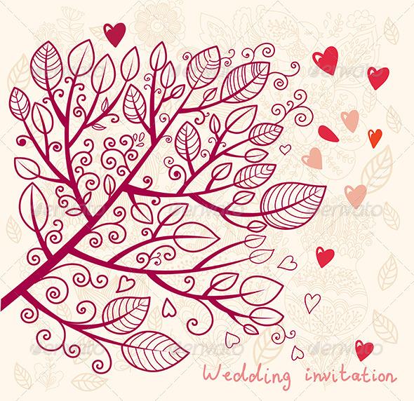 11 Vector Elegant Invitation Design Images