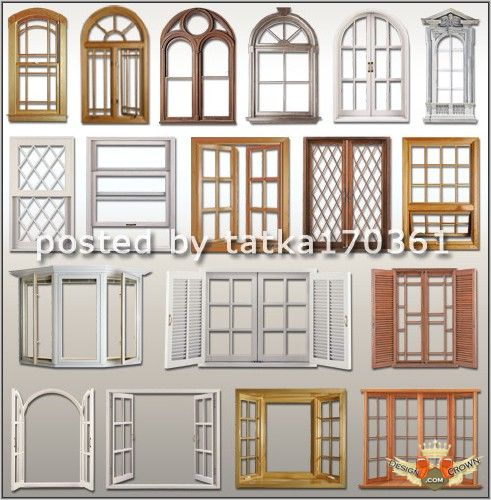 12 wooden house windows psd images window frame shapes for Wood window door design