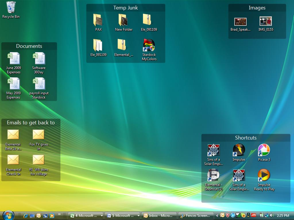 10 Windows 7 Desktop Icon Organizer Images