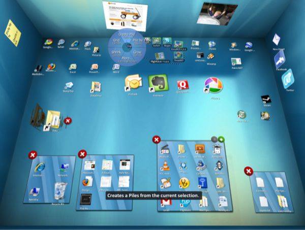 Windows 7 Desktop Organizer Via