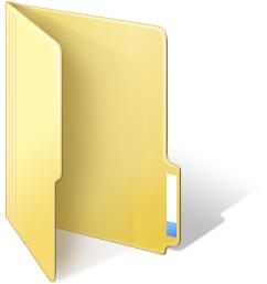 Windows 8 Desktop Folder Icons