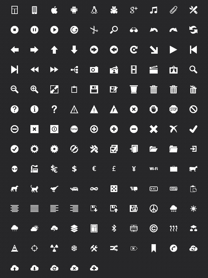 16 Free Metro Icons Images