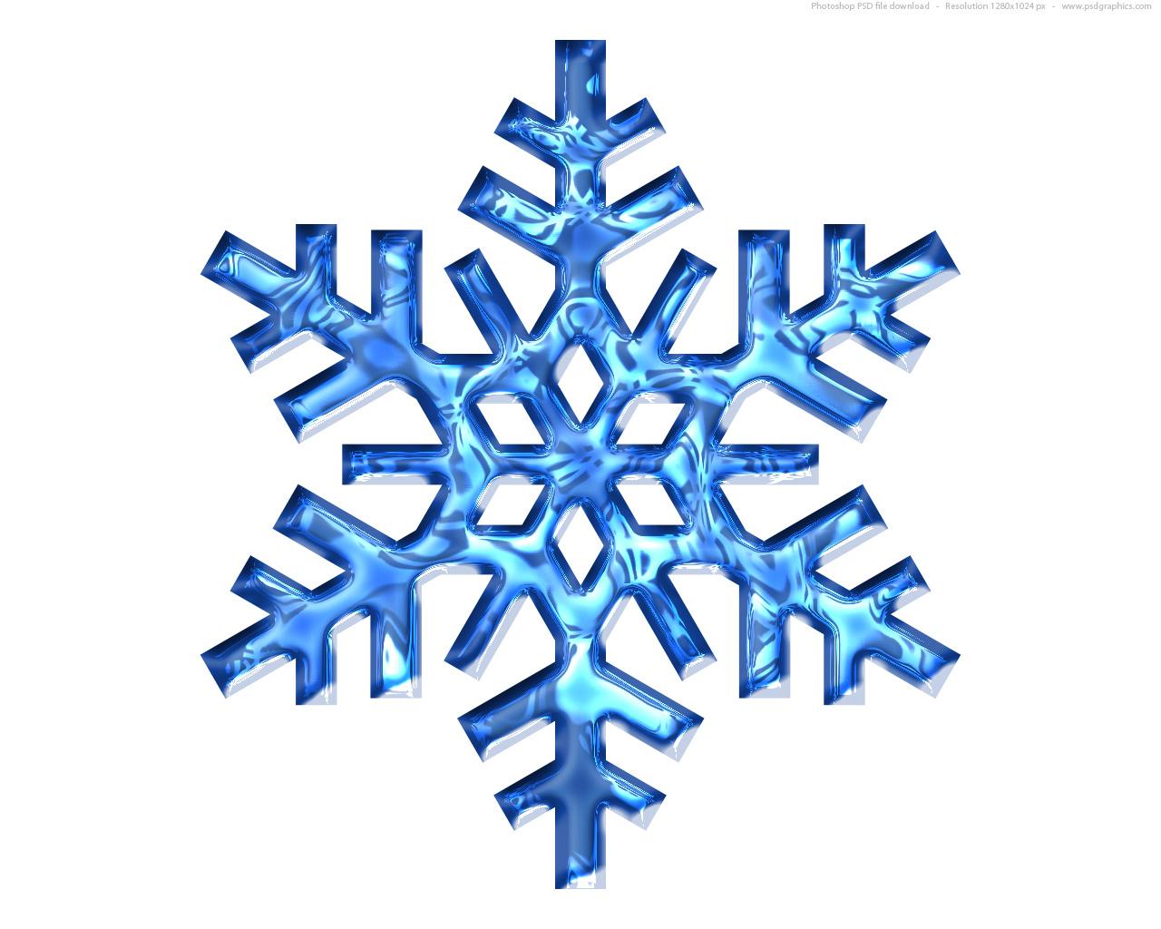 Winter Snowflakes Clip Art Free