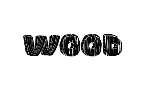 14 Wood Style Fonts Images