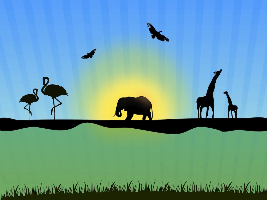 19 Free Vector Nature Wild Images