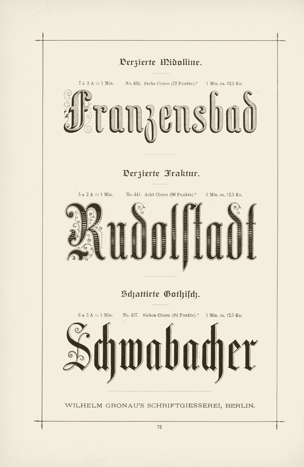 5 Victorian Fonts 19th Century Images