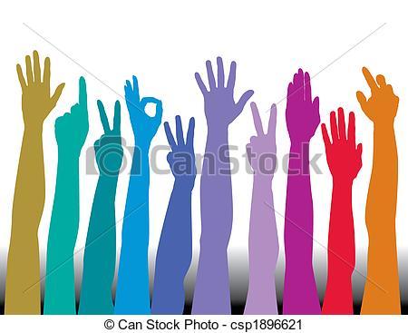 All Hands Clip Art