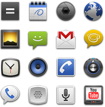 Android App Icon Template