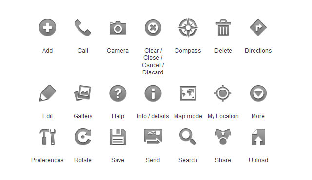 Android Phone Menu Icon