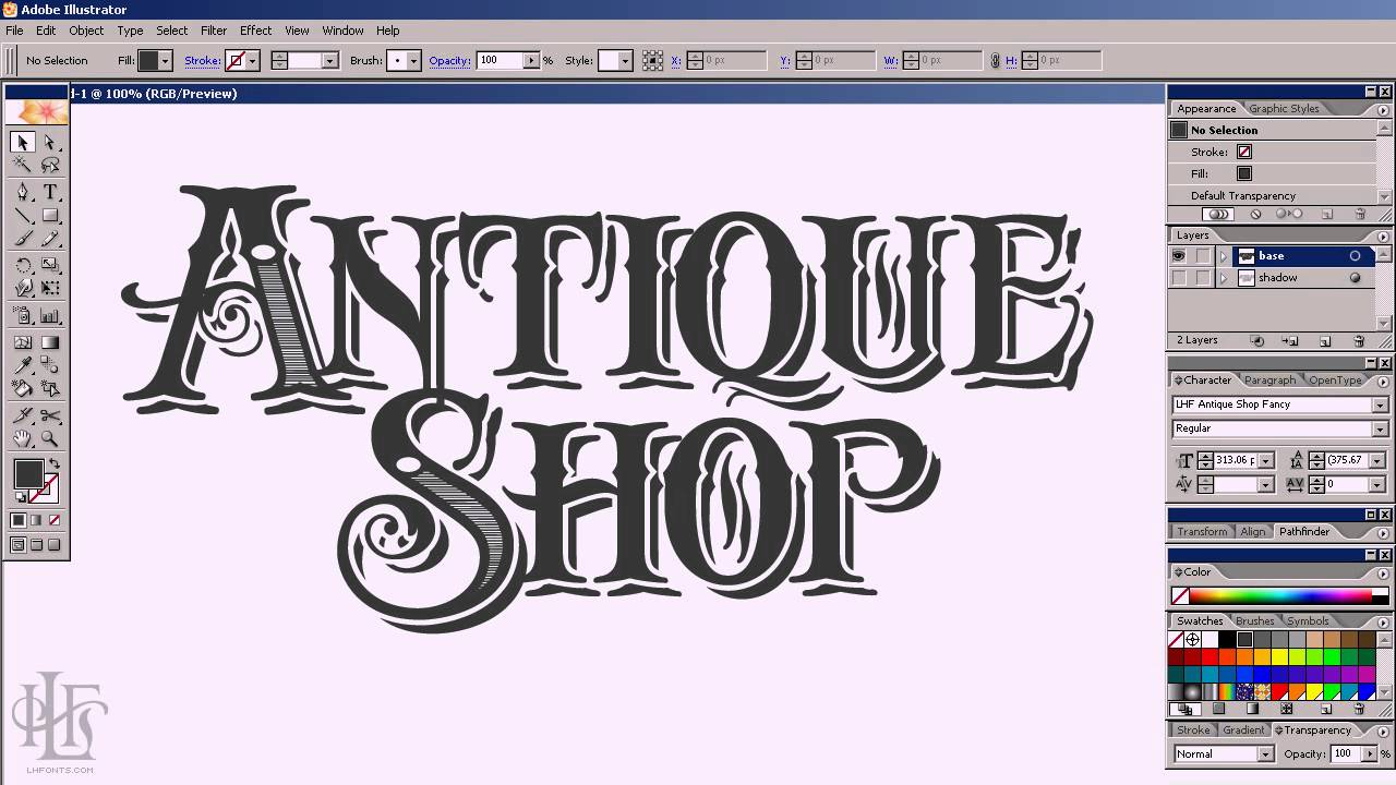 Antique Shop Font Free Download