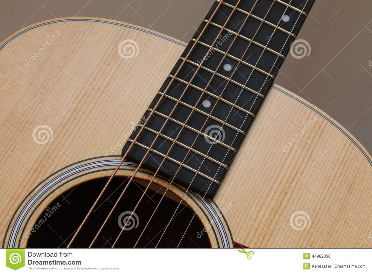 Beautiful Close Up Guitar