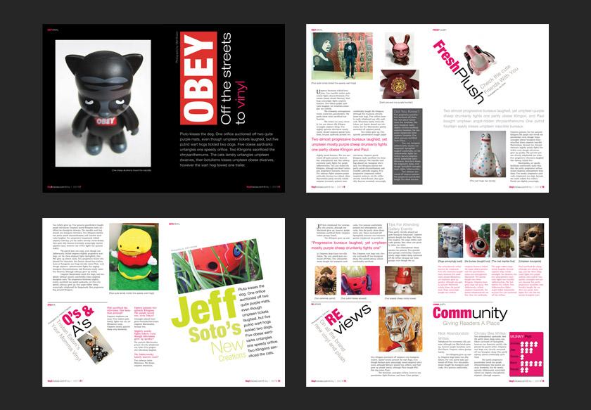 Best Magazine Layout Design