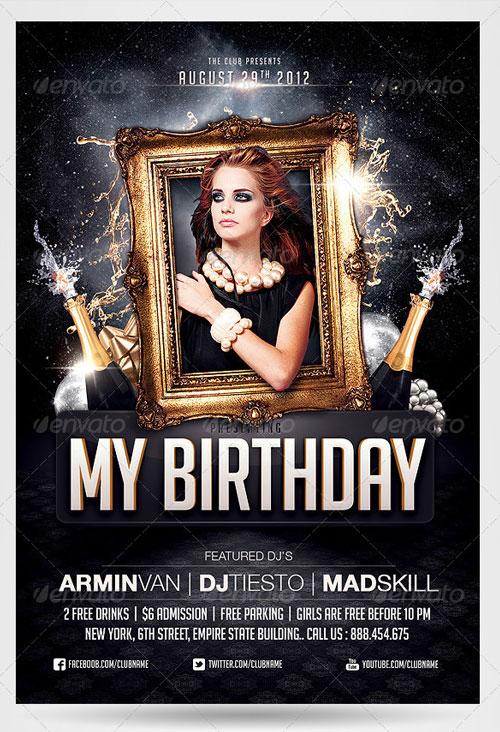 birthday bash club flyer ibov jonathandedecker com
