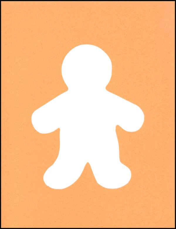 Blank Person Cut Out