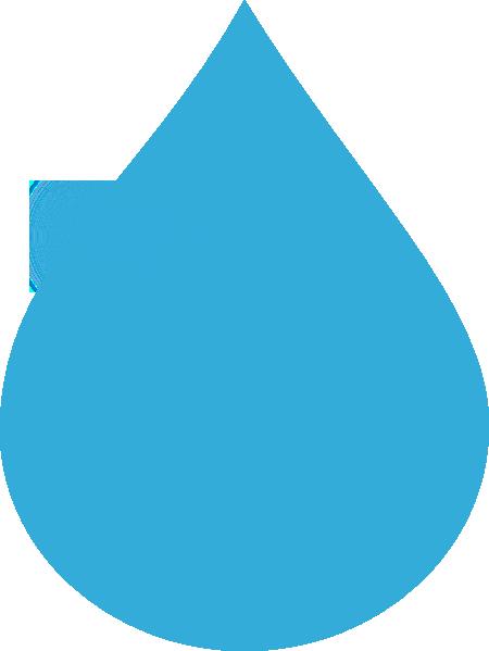 Blue Water Drop Clip Art