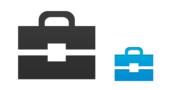 12 Briefcase Icon Photoshop Png Images