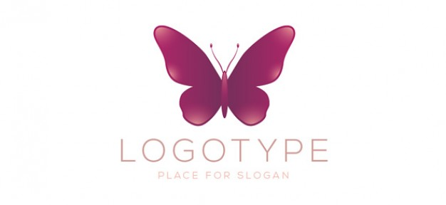 10 Free Psd Butterfly Logo Images
