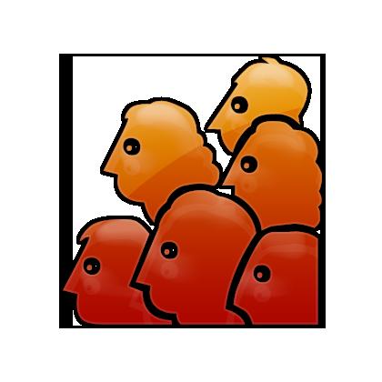 Community Portal Orange Icon
