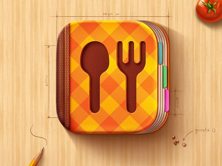 Cookbook Apps Icons
