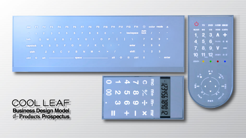 Cool Leaf Keyboard