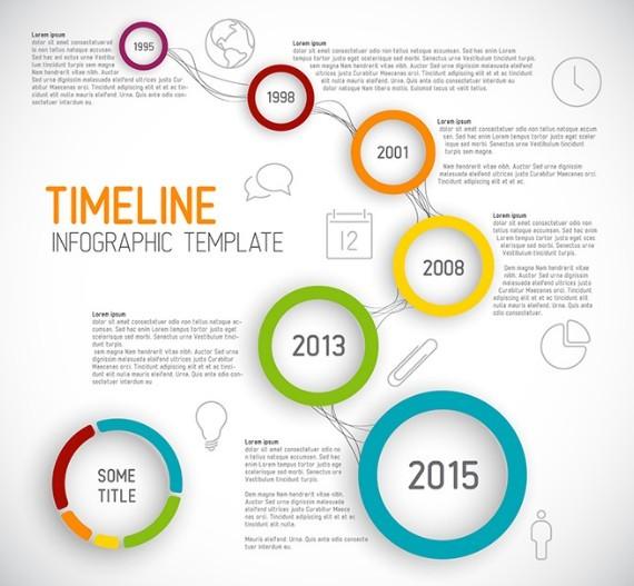 Creative Timeline Templates Free
