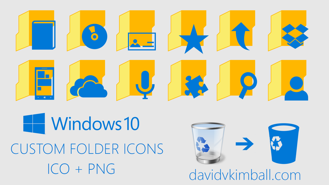 Custom Windows Icons Folder 10