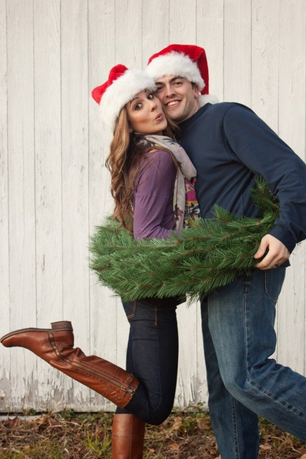 Cute Couple Christmas Card Ideas