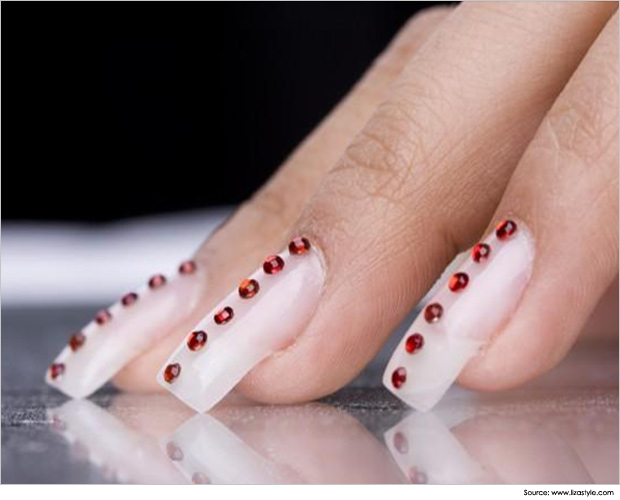 Cute Simple Acrylic Nail Designs