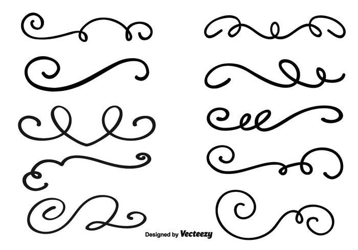 Decorative Swirl Vector