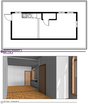 Design Options Revit Rooms